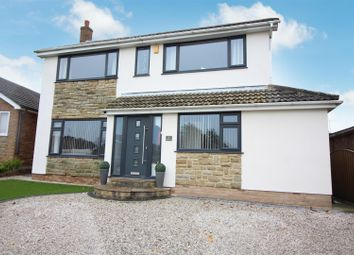 Thumbnail 4 bed detached house for sale in Hillcrest, Monk Fryston, Leeds