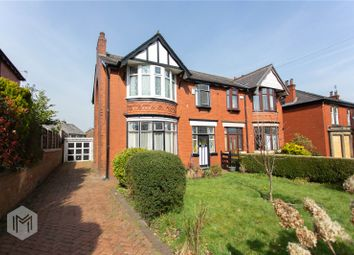 Thumbnail 3 bed semi-detached house for sale in Bury Old Road, Heywood, Greater Manchester