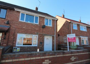 Thumbnail 3 bed terraced house to rent in Lincoln Drive, Willington, Crook
