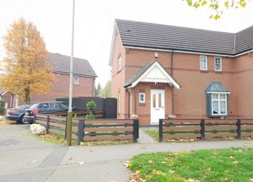 Thumbnail 3 bed semi-detached house for sale in Arden Terrace, Braunstone, Leicester