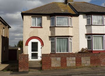 Thumbnail 3 bedroom semi-detached house for sale in Mitchell Avenue, Northfleet, Gravesend