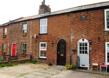 Thumbnail 2 bed terraced house for sale in Common Road, Wiggenhall St. Mary, Kings Lynn