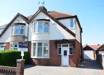 Thumbnail 3 bed semi-detached house for sale in Faringdon Avenue, South Shore, Blackpool