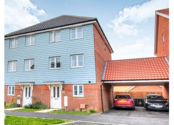 Thumbnail 3 bed semi-detached house for sale in Almond Drive Cringleford, Norwich