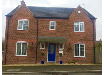 Thumbnail 4 bed detached house for sale in Home Leys Way, Wymeswold