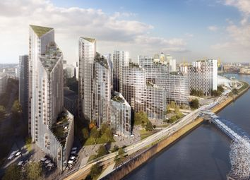 Thumbnail 1 bed flat for sale in Upper Riverside, Greenwich Peninsula, London