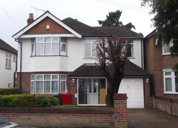 Thumbnail 5 bed detached house to rent in Quaves Road, Langley, Slough