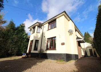 Thumbnail 4 bedroom detached house for sale in Cefn Road, Rogerstone, Newport