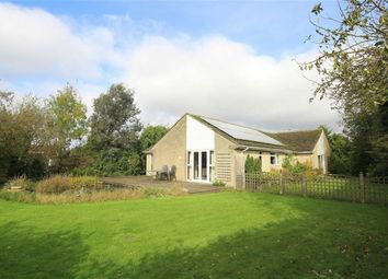 Thumbnail 4 bed detached bungalow for sale in The Street, Castle Eaton, Wiltshire