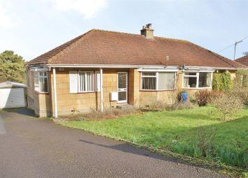 Thumbnail 3 bed semi-detached bungalow for sale in Warminster Road, Bathampton, Bath