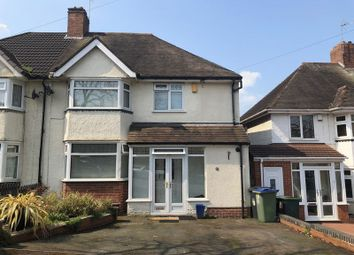 Thumbnail 3 bed semi-detached house for sale in Hurst Road, Bearwood, Smethwick