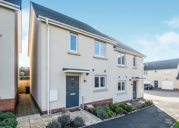 Thumbnail 2 bed semi-detached house for sale in Chariot Drive, Kingsteignton, Newton Abbot