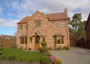 Thumbnail 4 bed detached house for sale in Bramley Close, Heckington, Sleaford
