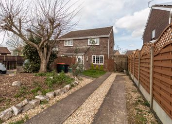 Thumbnail 2 bedroom semi-detached house for sale in Caldy Close, St. Julians, Newport