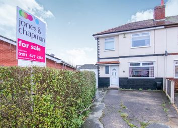 Thumbnail 3 bed semi-detached house for sale in Inglewood Avenue, Moreton, Wirral