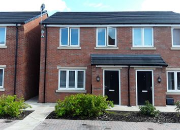 Thumbnail 3 bedroom semi-detached house for sale in Wilkinson Close, Snedshill, Telford