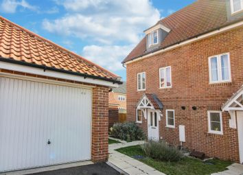 Thumbnail 3 bedroom end terrace house for sale in Willowcroft Way, Cringleford