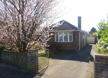 Thumbnail 3 bed detached bungalow for sale in Coates Road, Southampton