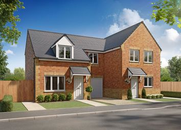 "Thumbnail 3 bed semi-detached house for sale in ""Woodford"" at St. Peters Drive, Askern, Doncaster"