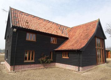 Thumbnail 4 bed barn conversion to rent in Chediston, Halesworth