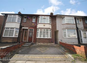 Thumbnail 2 bed terraced house for sale in St. Augustine Avenue, Luton
