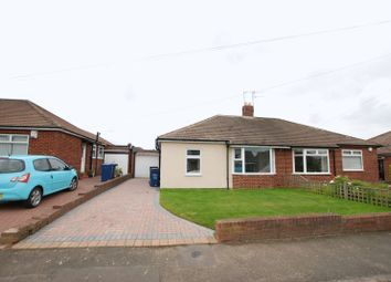 Thumbnail 2 bed semi-detached bungalow for sale in South Bend, Gosforth, Newcastle Upon Tyne