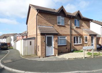Thumbnail 2 bed semi-detached house for sale in Smallridge Close, Plymstock, Plymouth