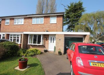 Thumbnail 3 bed semi-detached house for sale in Wentworth Close, Hinckley