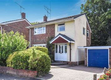 Thumbnail 3 bed link-detached house to rent in Parkhill Road, Blackwater, Camberley