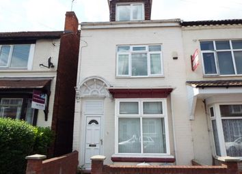 Thumbnail 7 bed terraced house for sale in Rookery Road, Selly Oak, Birmingham, West Midlands
