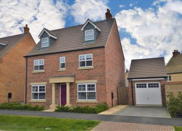 Thumbnail 5 bed detached house for sale in Culpepper Way, Stamford
