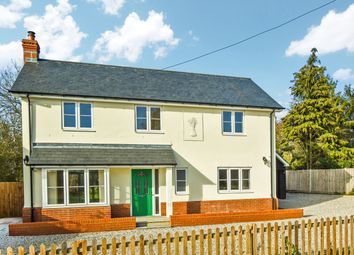 Thumbnail 4 bed detached house to rent in Main Road, Great Leighs, Chelmsford