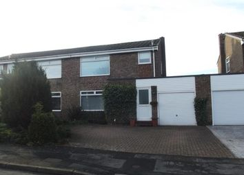 Thumbnail 3 bed semi-detached house for sale in Green Court, Esh, Durham
