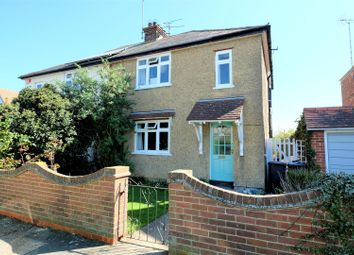 Thumbnail 3 bed semi-detached house for sale in St. Annes Road, Tankerton, Whitstable