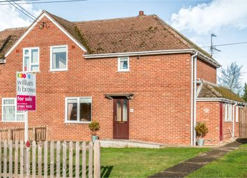 Thumbnail 3 bed semi-detached house for sale in Nethergate Street, Hopton, Diss