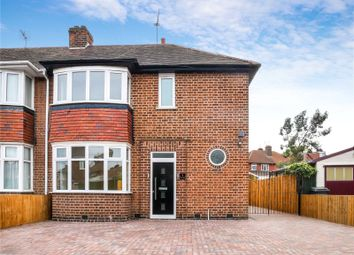 Thumbnail 3 bed semi-detached house for sale in Bembridge Close, Leicester
