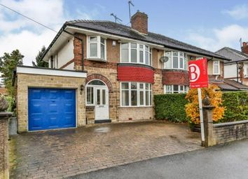 Thumbnail 3 bed semi-detached house for sale in Norton Park Crescent, Sheffield, South Yorkshire