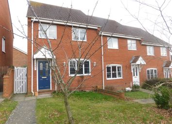 Thumbnail 3 bed end terrace house for sale in Swan Close, Stowmarket