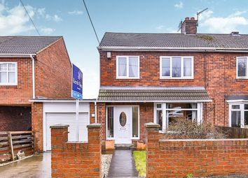 Thumbnail 3 bed semi-detached house for sale in Belvedere Gardens, Shotton Colliery, Durham