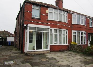 Thumbnail 4 bed terraced house to rent in Heathside, Withington, Manchester