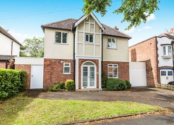 Thumbnail 3 bed detached house for sale in Blackburne Road, Hall Green, Birmingham
