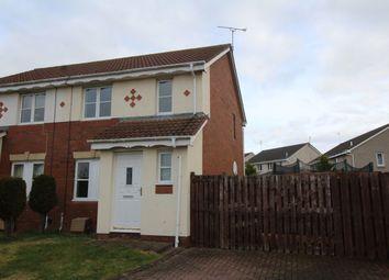 Thumbnail 3 bed semi-detached house for sale in Kirkhill Court, Gorebridge