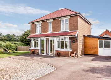 Thumbnail 3 bed detached house for sale in Mitcheldean Road, Lea, Ross-On-Wye