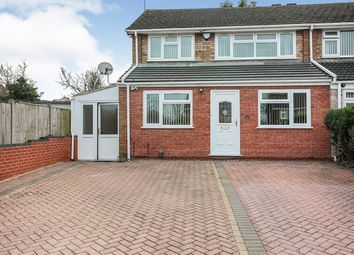 Thumbnail 4 bed semi-detached house for sale in Wood Hill Rise, Coventry, West Midlands