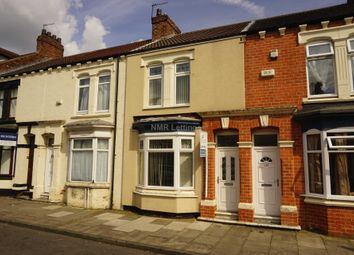 Thumbnail 4 bed terraced house to rent in Abingdon Road, Middlesbrough
