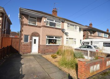 Thumbnail 3 bed semi-detached house for sale in Crossways, Bromborough, Wirral