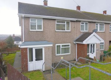 Thumbnail 3 bed end terrace house for sale in Caernarvon Way, Bonymaen, Swansea