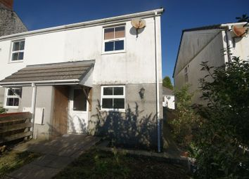 Thumbnail 2 bed semi-detached house for sale in Hallaze Road, Penwithick, St. Austell
