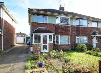 Thumbnail 3 bed semi-detached house for sale in Gainsborough Avenue, Broadwater, Worthing, West Sussex