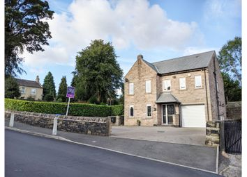 Thumbnail 4 bed detached house for sale in Green Lane, Hollingworth